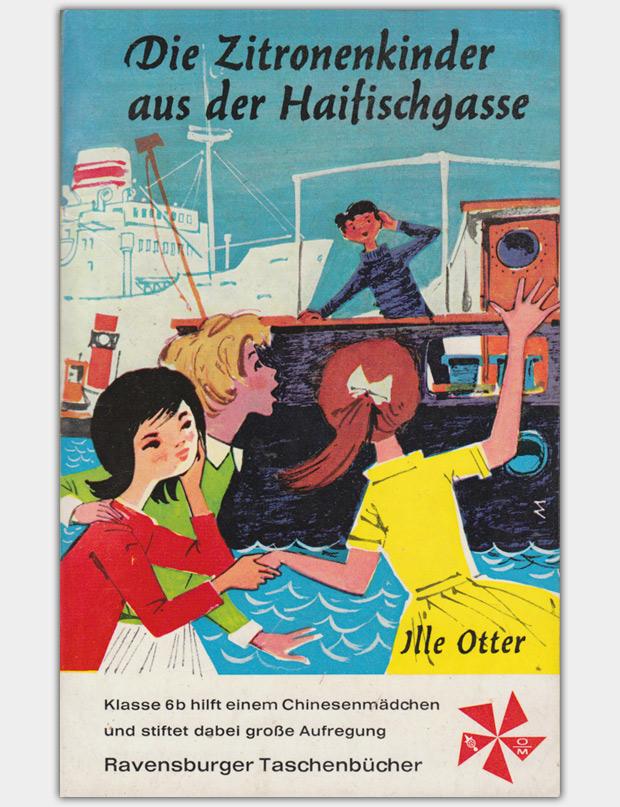 Die Zitronenkinder aus der Haifischgasse | Ravensburger Taschenbücher Band 14, Erste Auflage 1963